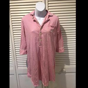 Lauren Ralph Lauren Women's Pink Long Sleeve Polka
